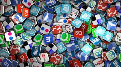 Redes sociais, parte integrante do dia