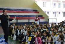 Alunos do Fundamental I participam de Jogos Olímpicos no Sanfra