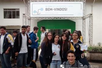 Estudantes visitam Feira USP e as Profissões