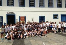 7º ano visita o Pateo do Collegio no Centro de SP