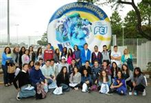 Xaverianos do Ensino Médio visitam a FEI
