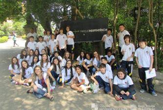 Xaverianos do 7º Ano visitam o Parque da Independência
