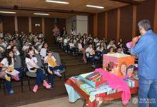 O escritor Jonas Ribeiro visita os Xaverianos do 3º Ano