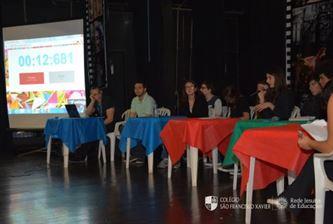 Xaverianos realizam Simulação de Debate Político