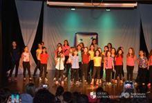 Xaverianas do Curso de Atividades Extras participam da apresentação de Coral