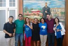 Sanfra recebe a visita de representantes do Programa MAGIS Brasil