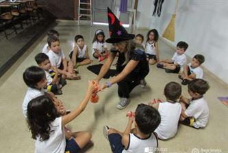 Atividade lúdica do Infantil II