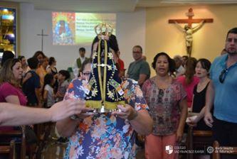 Xaverianos e familiares participam de atividades durante final de semana