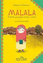 Neste livro-reportagem, a jornalista Adriana Carranca relata às crianças a história da adolescente paquistanesa Malala Yousafzai, baleada por membros do Talibã aos catorze anos por defender a educação feminina. A repórter traz suas percepções sobre o vale do Swat, a história da região e a definição dos termos mais importantes para entender a vida desta menina tão corajosa.