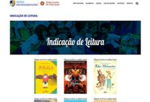 Site do Sanfra abre espaço de Indicações de Leitura