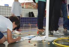 Famílias participam das aulas abertas