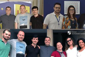 Colégio São Francisco Xavier recebe visitas de integrantes de outras obras