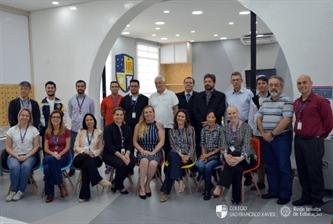 Superior Geral da Companhia de Jesus visita Colégio São Francisco Xavier