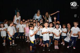 Educação Infantil do Sanfra recebe a Cinderela