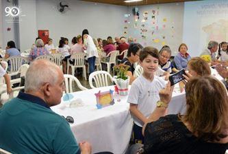 Chá dos Avós: um momento de interação e solidariedade