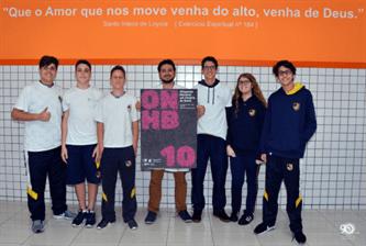 Sanfra participa da Olimpíada Nacional de História do Brasil