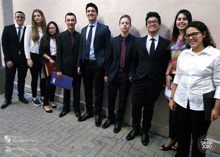 Xaverianos participam da I Simulação da ONU da Rede Jesuíta de Educação