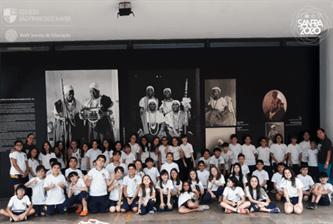 Xaverianos visitam Museu Afro Brasil