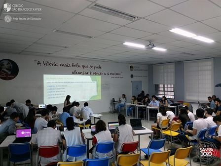 1ªs séries participam de debate sobre aquecimento global