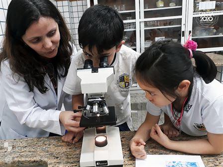 2ºs anos recebem visita de médica patologista