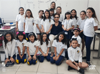 3º anos finalizam o projeto Brasil e a Influência Japonesa