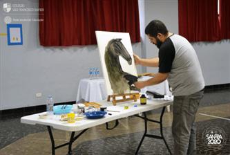 Xaverianos da Pré-Escola II recebem visita de renomado autor e ilustrador