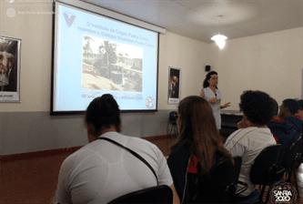 9º ano participa de roda de conversa com alunos do Instituto de Cegos Pe. Chico