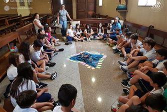 Xaverianos do 5º ano participam de Tarde de Formação