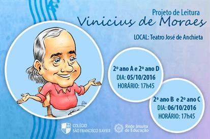 Projeto de Leitura: Vinicius de Moraes
