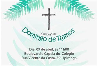 Domingo de Ramos no Colégio São Francisco Xavier
