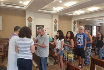 Comunidade educativa do SANFRA celebra a Quaresma