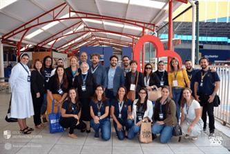 SANFRA recebe a visita da Sagrado – Rede Educação