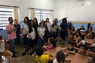 Voluntariado das 2ªs Séries do Ensino Médio