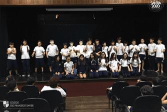 Xaverianos motivam Xaverianos na  Campanha do Agasalho