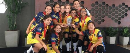 SANFRA é destaque no voleibol