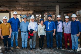SANFRA recebe visita do Delegado de Educação Jesuíta da América Latina
