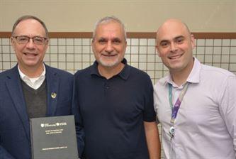 SANFRA recebe visita do Secretário Internacional de Educação da Companhia de Jesus