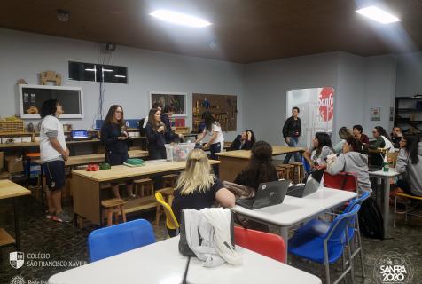 Xaverianos do Ensino Médio produzem material para o Ensino Fundamental