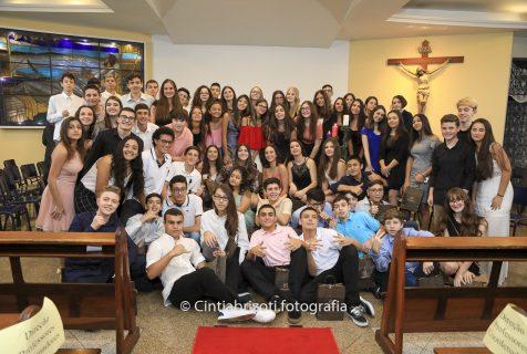 Xaverianos do 9º ano celebram missa de encerramento