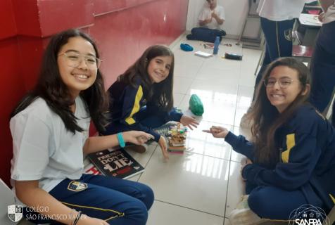 Xaverianos trabalham relações interpessoais em projeto de inglês