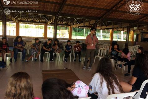 Xaverianos do 6º ano participam do primeiro DDF de 2020