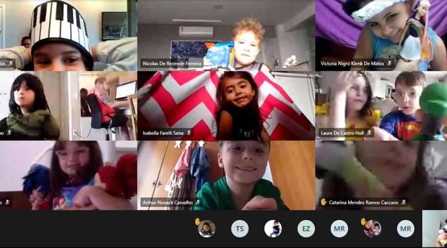 Brincadeiras e sorrisos marcam a Semana da Criança no SANFRA