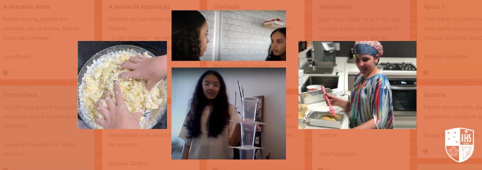 Estudantes do Fundamental II soltam a criatividade na aula de Língua Portuguesa