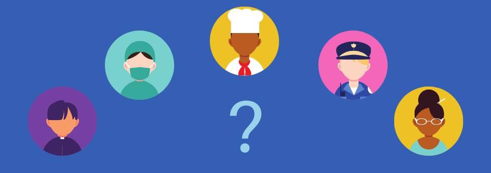 Falando sobre profissões: o que você quer ser quando crescer?